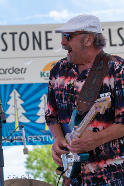 PK Mayo at Northwoods Blues Festival - 210619