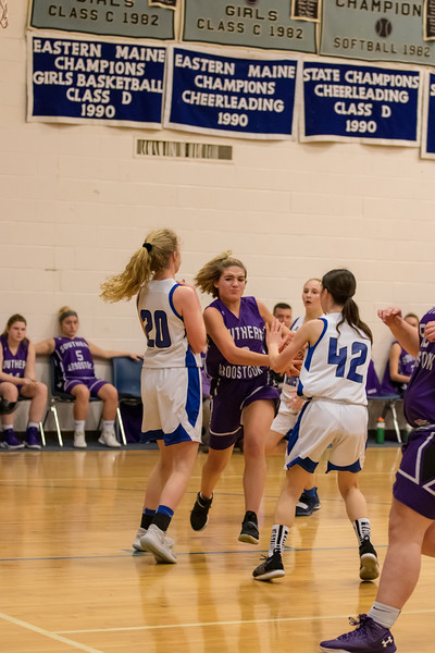 SACS Girls VS Central Aroostook 1/12/19
