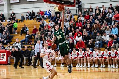 2019-12-06 Basketball Varsity - Pats VS Benet