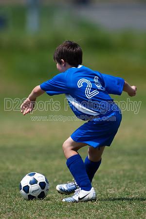Dynamo vs Pythons U8 Boys 5/9/2009