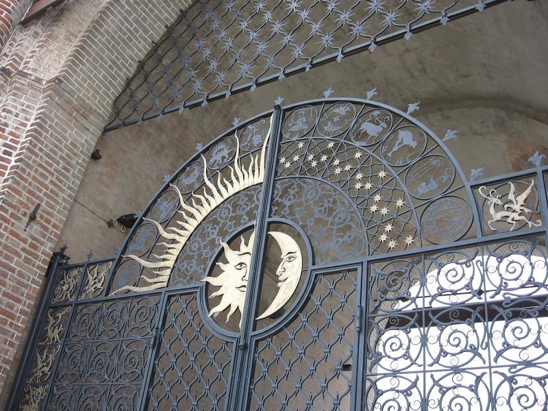 Kazan gate detail - Leslie Rowley