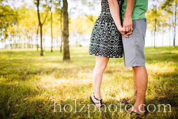 Chelsea & Taylor Color Engagement Photos