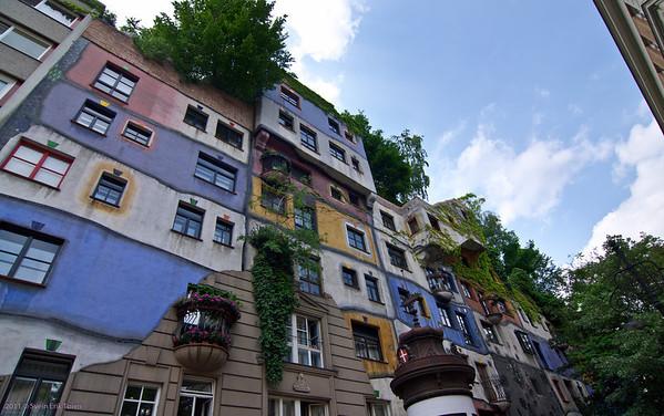 Hundertwassserhaus, Vienna
