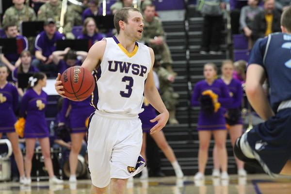 UWSP  Mens Basketball  UWSP Stout  Feb 11 2018