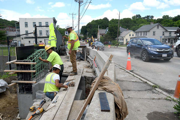 Route 8 construction in Adams - 061521