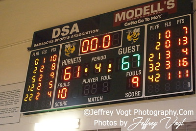 02-15-2012 Damascus HS vs Blake HS Varsity Boys Basketball, Photos by Jeffrey Vogt Photography