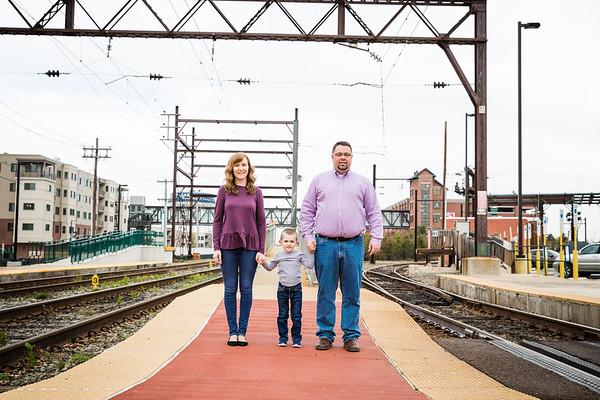 Zackowski Family   Landsdale Train Station   11.05.2019