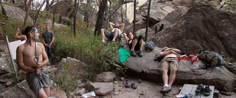 spectator rock at Bundaleer