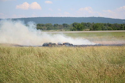 Brush fire - Reading Regional Airport Reading, PA - 6/7/2021
