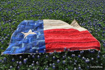 2018 03-18 My Texas Flag Quilt