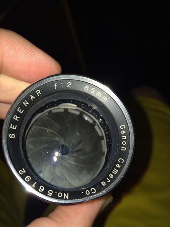 Canon Serenar 85mm F2