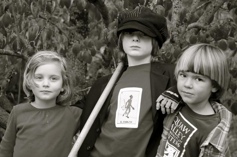 Audrey, Dashiell and Louis