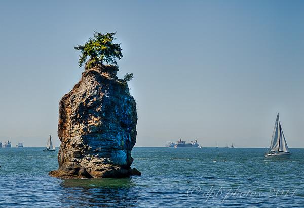 Stanley Park Seawall ~ Vancouver, B.C.