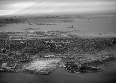 New York City Aerial views