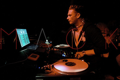 NEW YORK, NY - FEBRUARY 14:  Pauly D hosts a party at Pacha on February 14, 2012 in New York City.