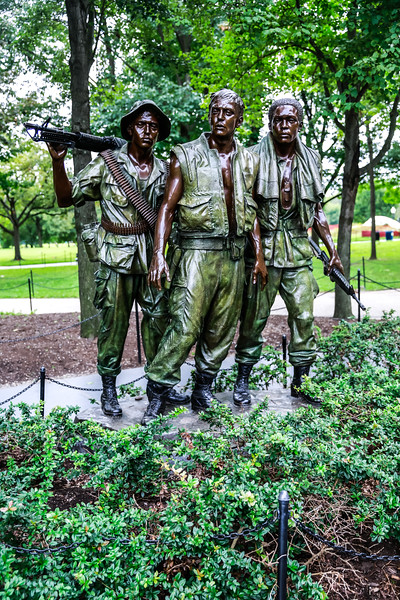 Korean, Lincoln and Vietnam Memorials October 2018