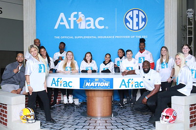 2019.12.07 Aflac Experience at SEC Fan Fare 2019 Day 2