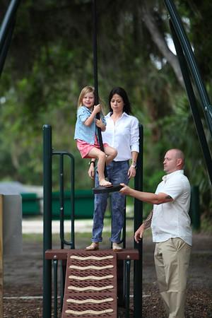 Drew and the Family, Hannah Park, Jacksonville Beach, Florida
