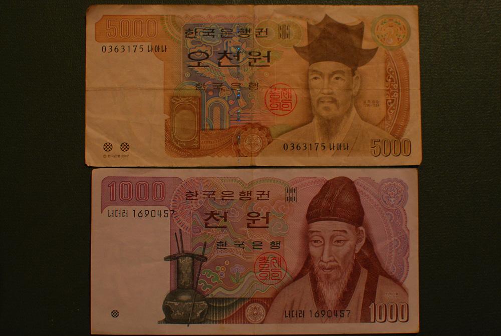 South Korea currency