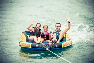Morgan Family Tubing & Skiing 2021