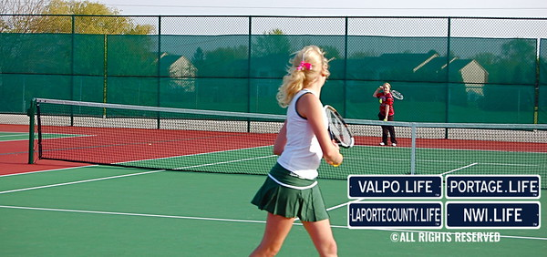 VHS Girls Tennis vs. Portage 2010