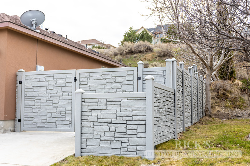 4035 - Allegheny Simulated Rock Fencing