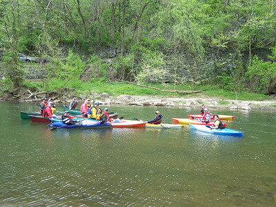 4.18.10 Kayak Ride Along the Patapsco River in Historic Ellicott City
