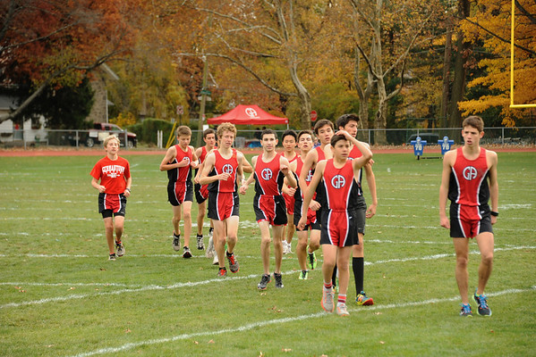 Boys' Cross Country: GA vs PC