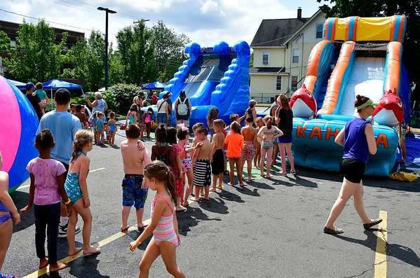 7/12/2019 Mike Orazzi | Staff The Imagine Nation Museum's Water Carnival on Friday morning.