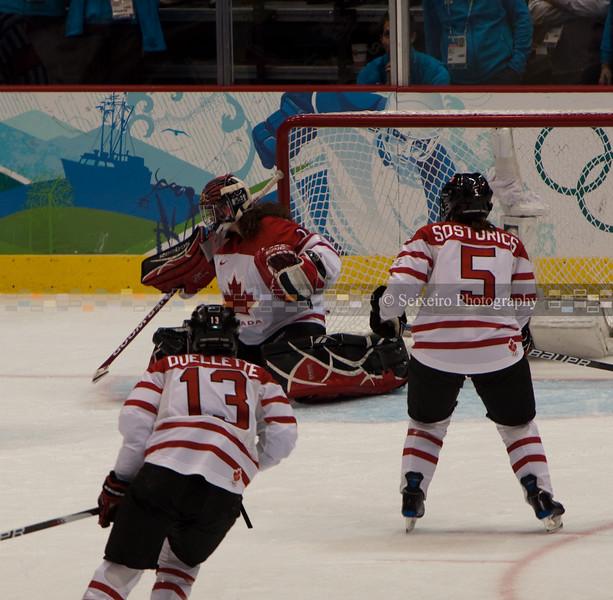 Women's Gold Medal Hockey