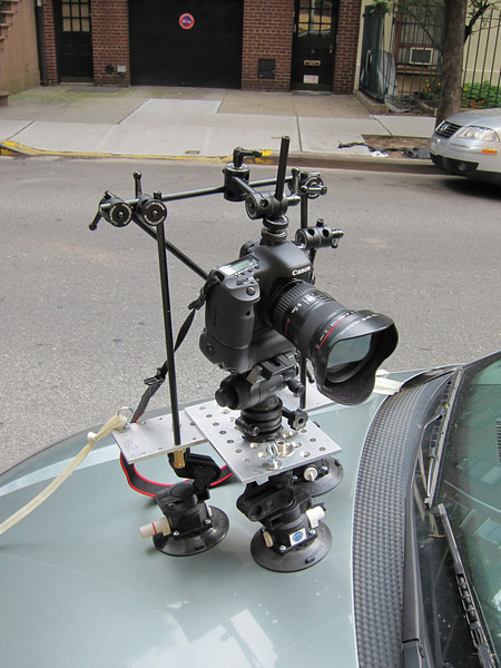Camera Car Mount Fitting Test