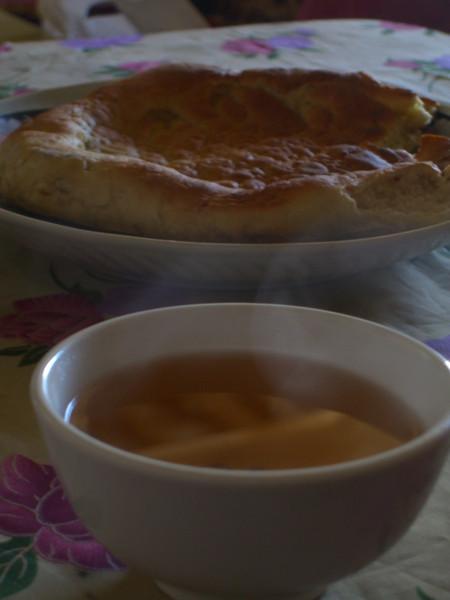 Tea and Bread - Sary Tash, Kyrgyzstan