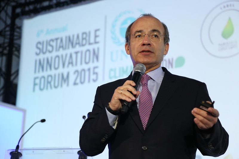 President Felipe Calderon, Closing Keynote: Private Sector Collaboration and the Green Economy