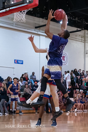 Broughton boys varsity basketball vs Sanderson. February 12, 2019. 750_6390