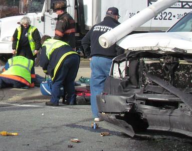 1/21/2011 - MVA Wildwood Blvd & Three Notch Rd