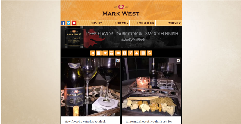 Mark West Black Wine Event