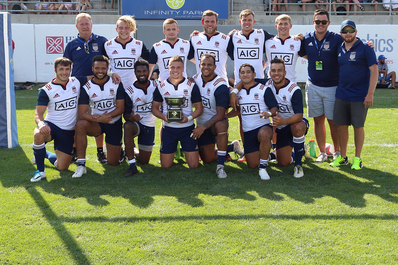 USA Collegiate All-Americans 2017 Rugbytown 7's
