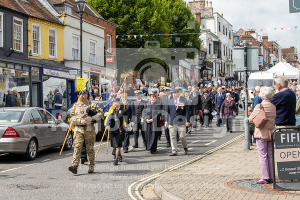 D-Day 75 in Lymington