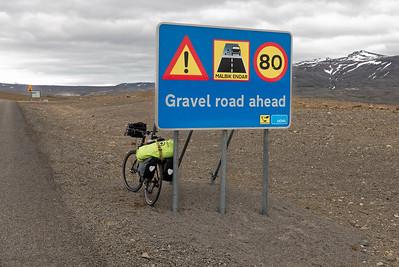 Island mit dem Rad 2015