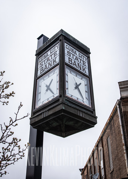 Cuba City State Bank Clock