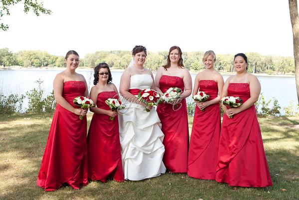 Wedding Party - Heather and Treye
