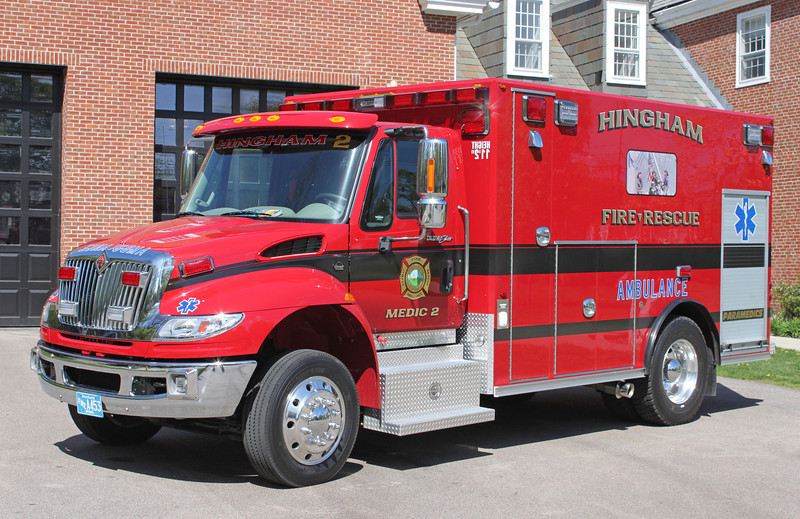 Medic 4.  2013 International / Osage (Ex Medic 2)