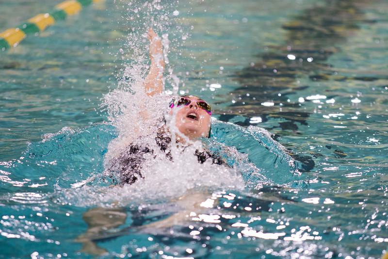 Men and Women Swimming vs. Oswego 11/07/15
