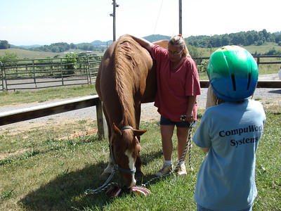 Horseback Riding--June 6, 2007
