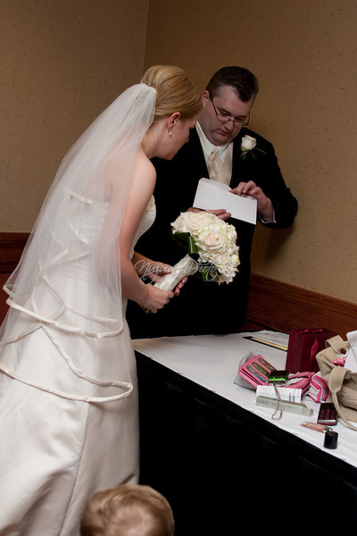 Marriage License - Andrea and Eric