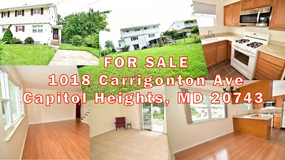 Virtual Showing 1018 Carrington Ave, Capitol Heights MD 20743