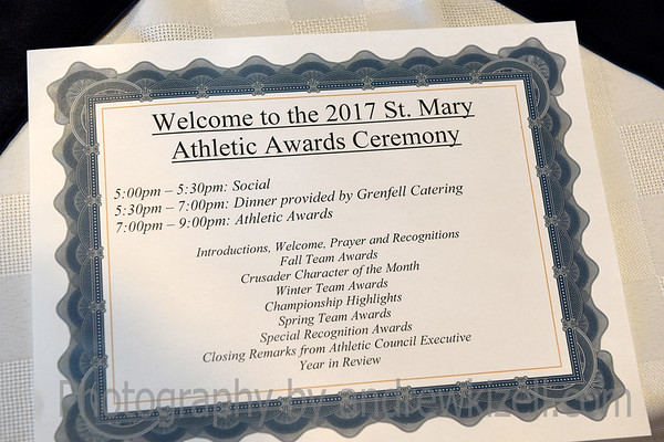 St Mary's Athletic Awards Banquet 2017
