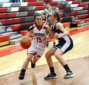 Girls Varsity Basketball - 2/13/2015 Fruitport Parent Night (RT)