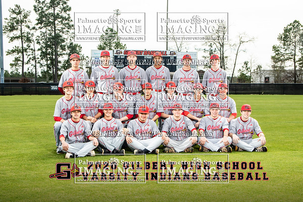 Gilbert High School Varsity Baseball Team and Individuals