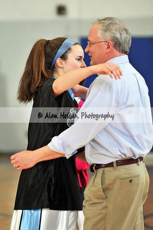 Girls Varsity Basketball - Perry at Lansing Catholic - Feb 4